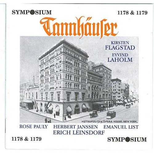 Leinsdorf, Flagstad, Laholm: Wagner - Tannhauser (2 CD, FLAC)