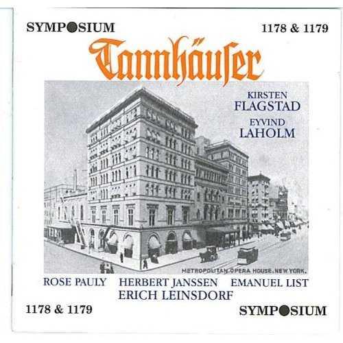 Leinsdorf, Flagstad, Laholm: Wagner - Tannhauser (2 CD, FLAC)
