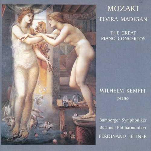 Leitner, Kempff: Mozart - Elvira, Madigan. The Great Piano Concertos (2 CD, APE)