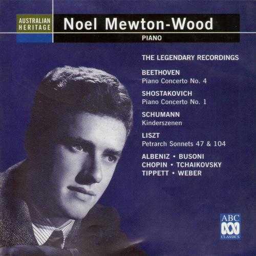 Noel Mewton-Wood - The Legendary Recordings (3 CD, FLAC)