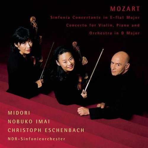 Midori, Imai, Eschenbach: Mozart - Sinfonia Concertante, Concerto (FLAC)