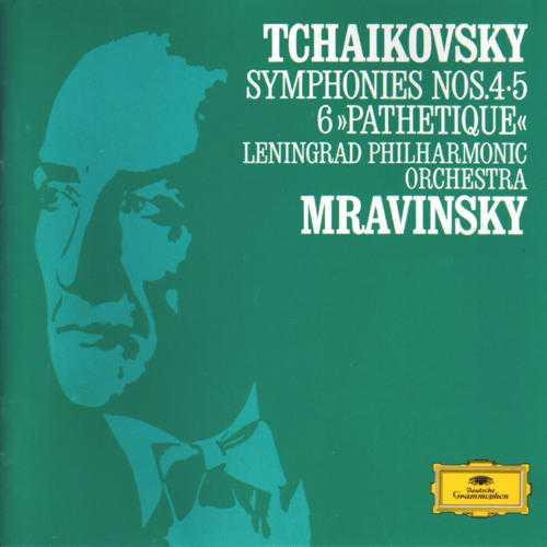 """Mravinsky: Tchaikovsky - Symphonies no.4, 5, 6 """"Pathetique"""" (2 CD, APE)"""