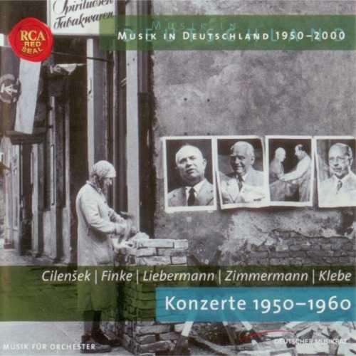 Cilensek, Finke, Liebermann, Zimmermann, Klebe: Konzerte 1950-1960 (APE)