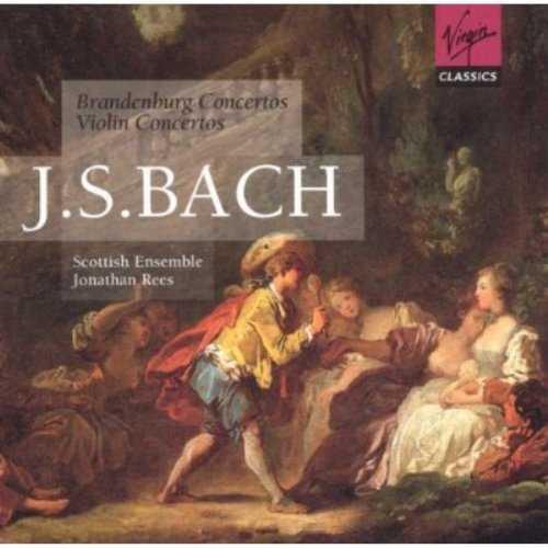 Rees: Bach - Brandenburg Concertos, Violin Concertos (2 CD, FLAC)