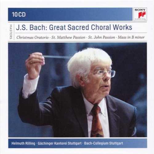 Rilling: Bach - Sacred Choral Works (10 CD box set, FLAC)