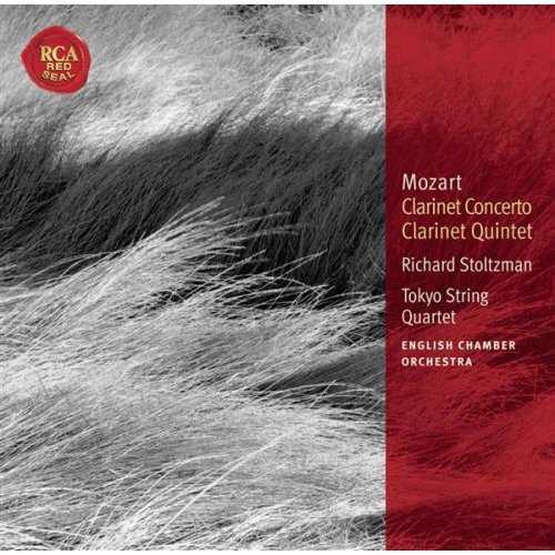 Stolzman: Mozart - Clarinet Concerto K.622, Clarinet Quintet K.581 (APE)