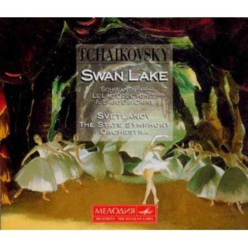 Svetlanov: Tchaikovsky - Swan Lake (3 CD, APE)