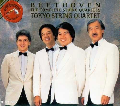 Tokyo String Quartet: Beethoven - String Quartets Complete (9 CD box set, APE)