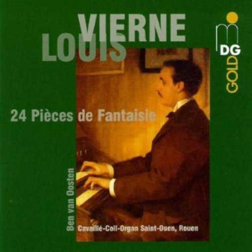 van Oosten: Vierne - 24 Pièces de Fantasie (2 CD, FLAC)