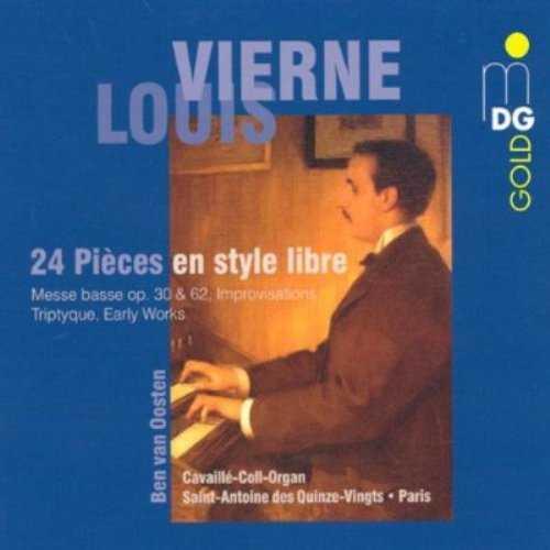 van Oosten: Vierne - 24 Pièces en style libre (3 CD, FLAC)