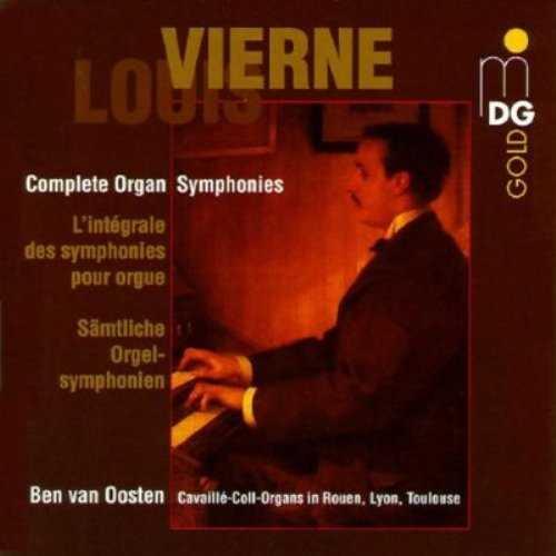 van Oosten: Vierne - Complete Organ Symphonies (4 CD, FLAC)