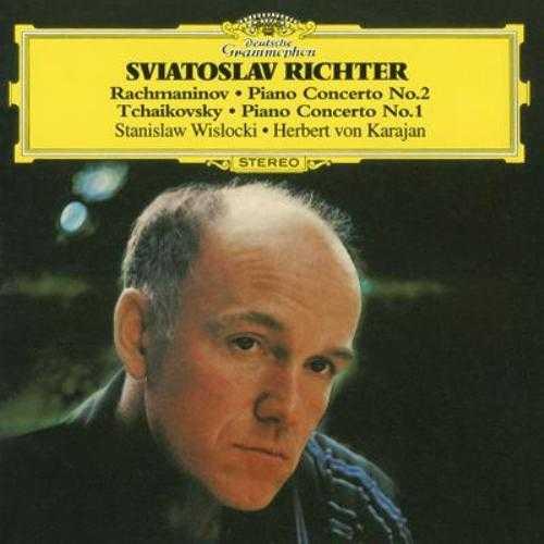 Wislocki, Karajan, Richter: Rachmaninov - Piano Concerto no.2, Tchaikovsky - Piano Concerto no.1 (APE)