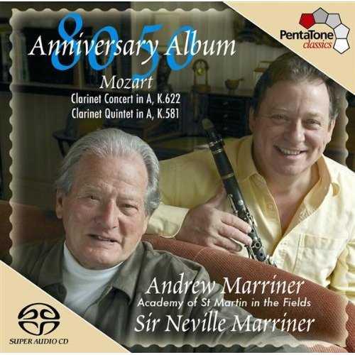 Marriner: Mozart - Clarinet Concert, Clarinet Quintet (FLAC)