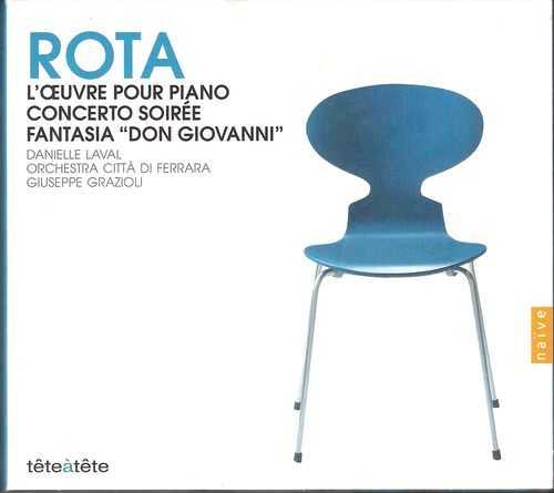 """Grazioli: Rota - L'Oeuvre pour piano, Concerto soirée, Fantasia """"Don Giovanni"""" (2 CD, FLAC)"""