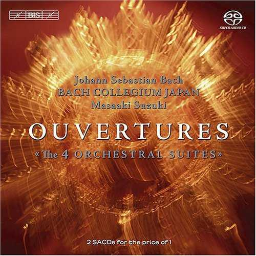 """Suzuki: Bach - Overtures """"The 4 Orchestral Suites"""" (2 CD, FLAC)"""