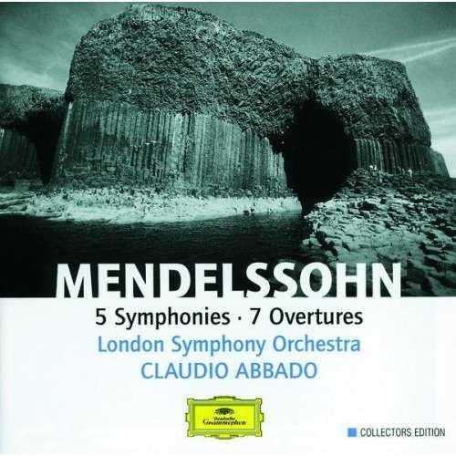 Abbado: Mendelssohn - 5 Symphonies, 7 Overtures (4 CD box set, FLAC)