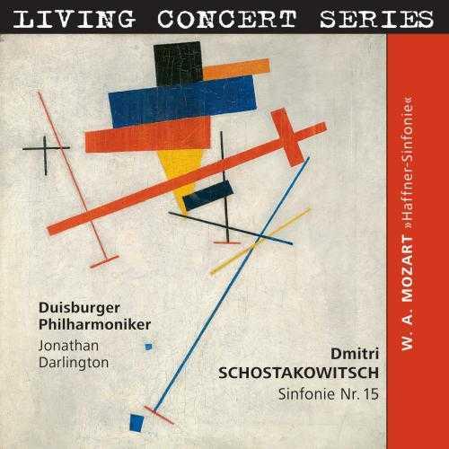 Darlington: Shostakovich - Symphony no.15, Mozart - Symphony no.35 (24/192 FLAC)