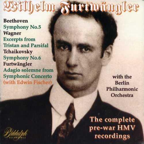 Furtwangler: The Complete Pre-War HMV Recordings (2 CD, FLAC)