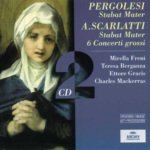 Pergolesi - Stabat Mater, Scarlatti - Stabat Mater, 6 Concerti grossi (2 CD, FLAC)