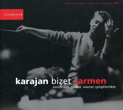Karajan: Bizet - Carmen, 1954 (2 CD, FLAC)