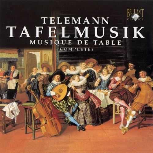 Telemann: Tafelmusik (4 CD box set, FLAC)