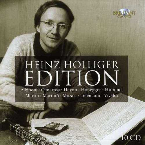 Heinz Holliger Edition (10 CD box set, FLAC)