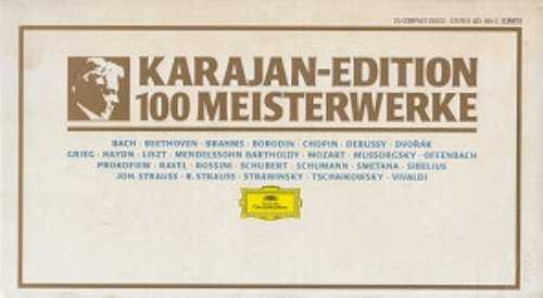 Karajan - Edition 100 Meisterwerke (25 CD box set, APE)