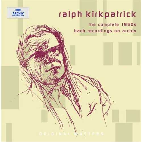 Kirkpatrick - The Complete 1950s Bach Recordings on Archiv (8 CD box set, FLAC)