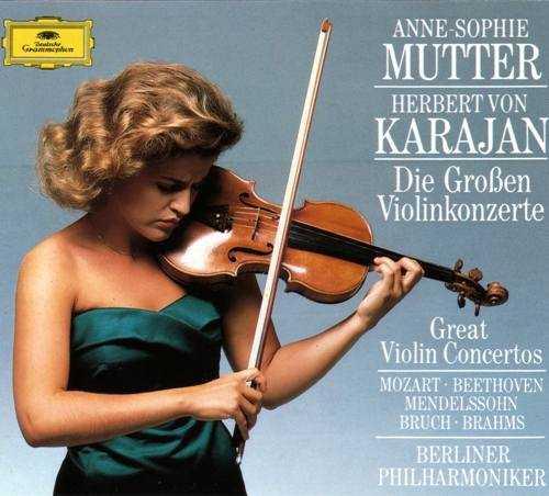Mutter, Karajan: Great Violin Concertos (4 CD, FLAC)
