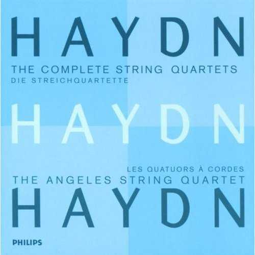 The Angeles String Quartet: Haydn - The Complete String Quartets (21 CD box set, FLAC)