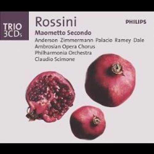 Scimone: Rossini - Maometto Secondo (3 CD, APE)