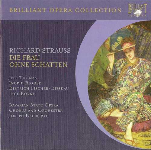 Keilberth: Strauss - Die Frau ohne Schatten  (3 CD, APE)