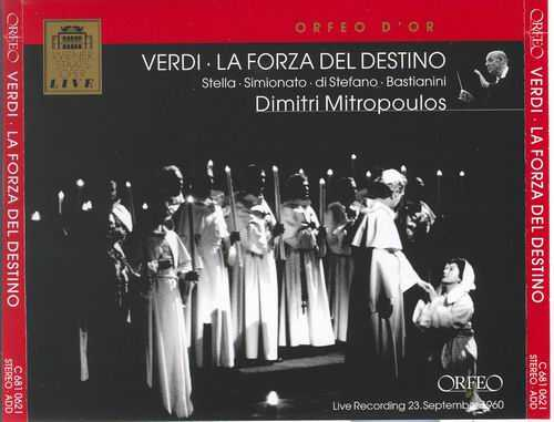 Mitropulos: Verdi La Forza Del Destino (2 CD, FLAC)