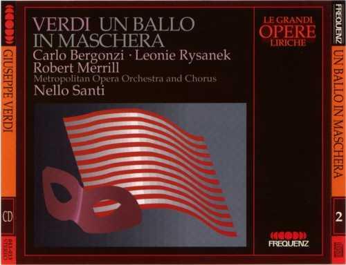 Santi: Verdi - Un ballo in maschera (2 CD, APE)