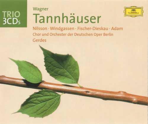 Gerdes: Wagner - Tannhauser (3 CD, FLAC)