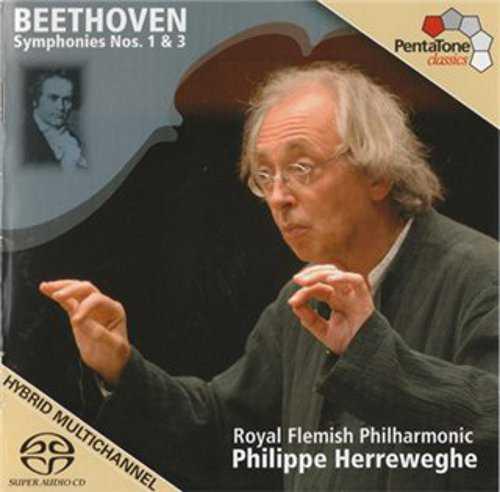 Herreweghe: Beethoven - Symphonies Nos. 1, 3 (APE)