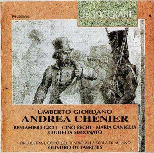 Fabritiis: Giordano - Andrea Chenier (2 CD, APE)