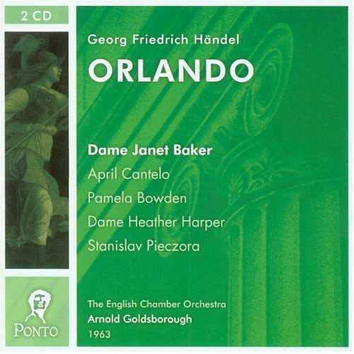 Goldsbrough: Handel - Orlando (2 CD, APE)