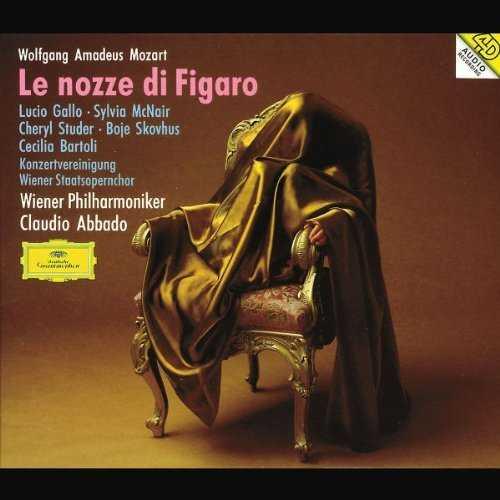 Abbado: Mozart - Le nozze di Figaro (3 CD, APE)