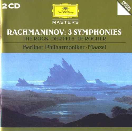 Maazel: Rachmaninov - Symphonies, The Rock (2 CD, FLAC)