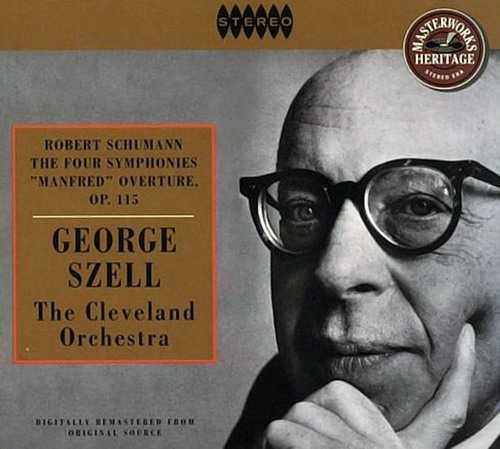 Szell: Schumann's Symphonies And Manfred Overture Op.115 (2 CD, APE)