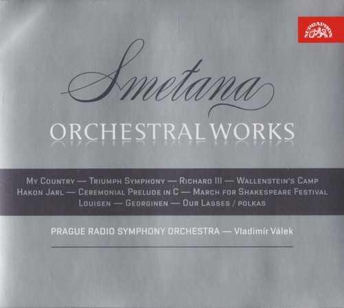 Válek: Smetana - Orchestralni dilo (3 CD, FLAC)