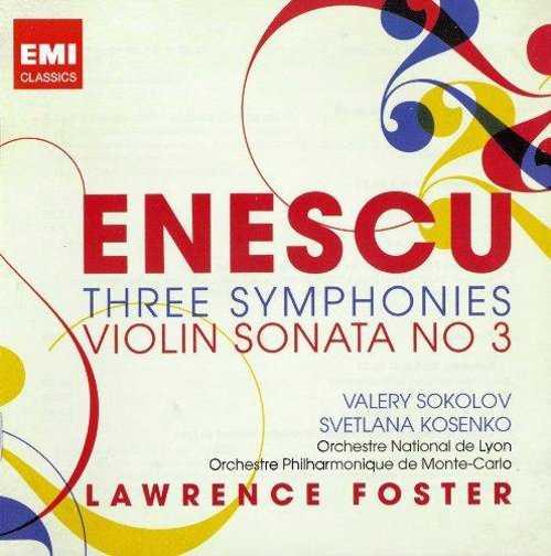 Enescu: Three Symphonies - Violin Sonata No 3 (2 CD, FLAC)