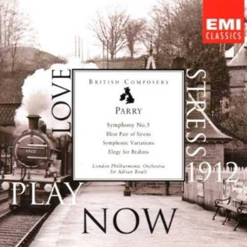 Boult: Parry - Symphony no.5 (FLAC)