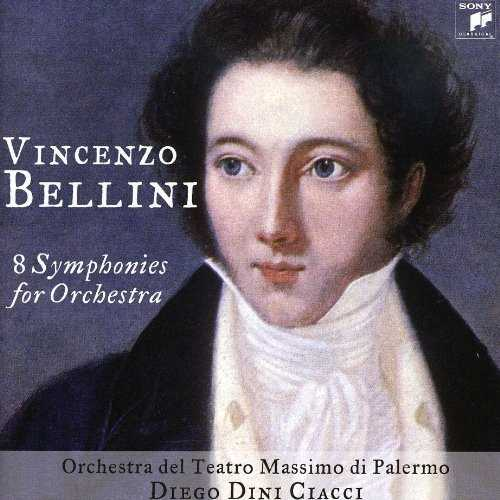 Ciacci: Bellini - 8 Symphonies for Orchestra (FLAC)