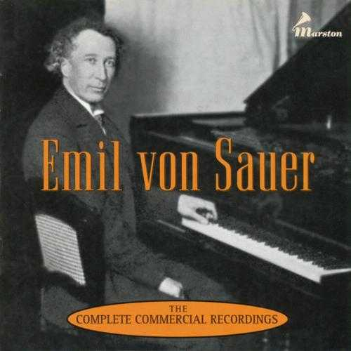 Emil von Sauer - The Complete Commercial Recordings (3 CD box set, FLAC)