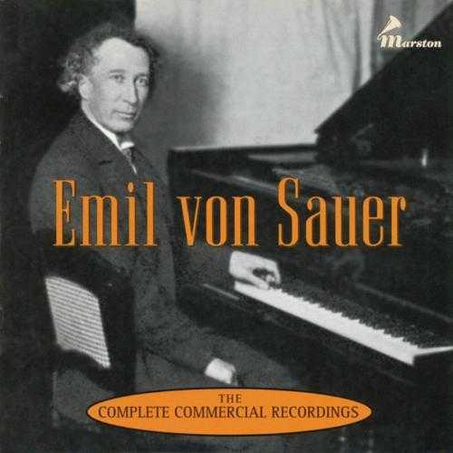 Emil von Sauer - The Complete Commercial Recordings (3 CD box set, FLAC)