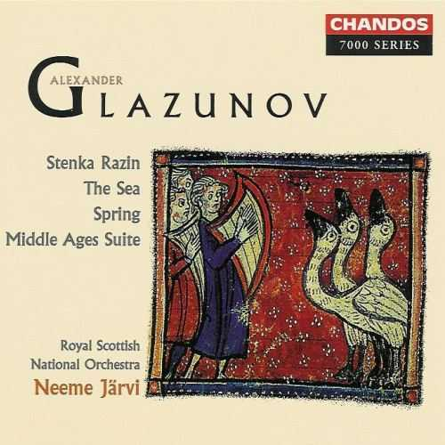 Jarvi: Glazunov - Stenka Razin, The Sea, Spring, Middle Ages Suite (FLAC)