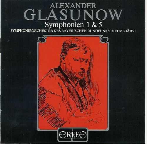 Jarvi: Glazunov - Symphonies 1-8 (6 CD, APE)
