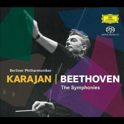 Karajan: Beethoven - The Symphonies (6 CD box set, FLAC)